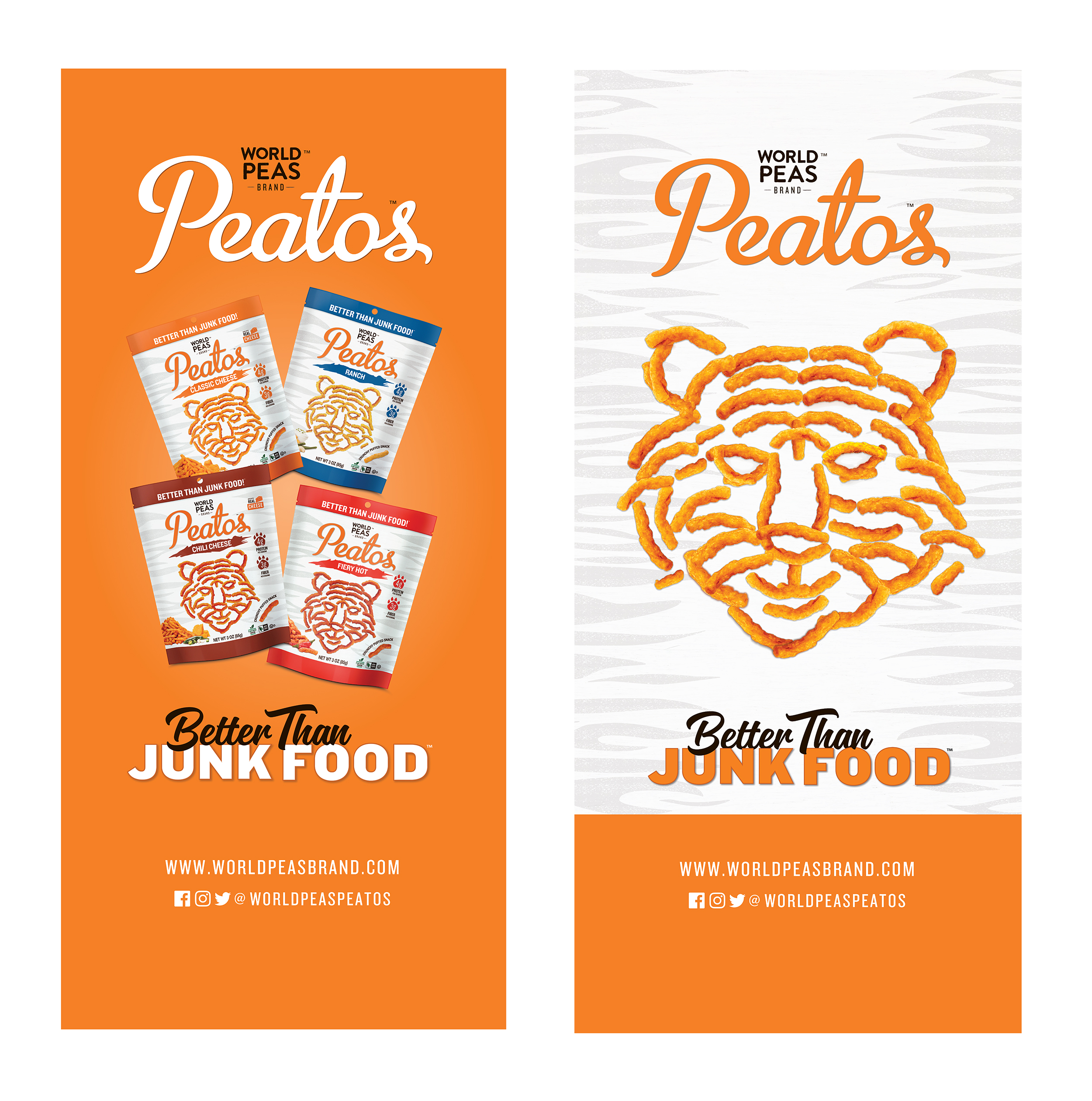 Trade events pull up banners. Illustrator CC.