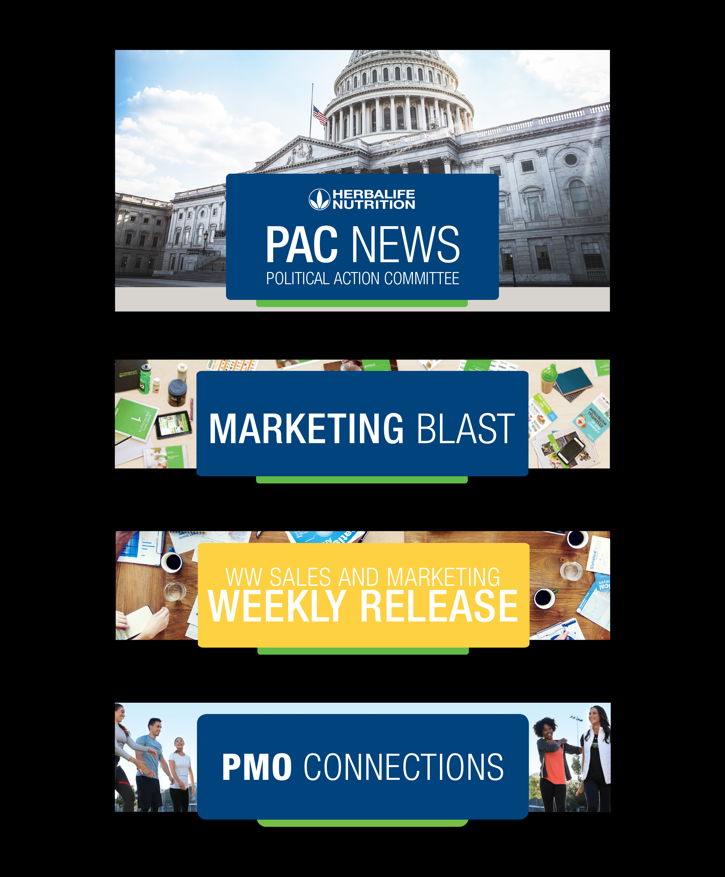 Email blast & website header banners. Photoshop & InDesign CC.
