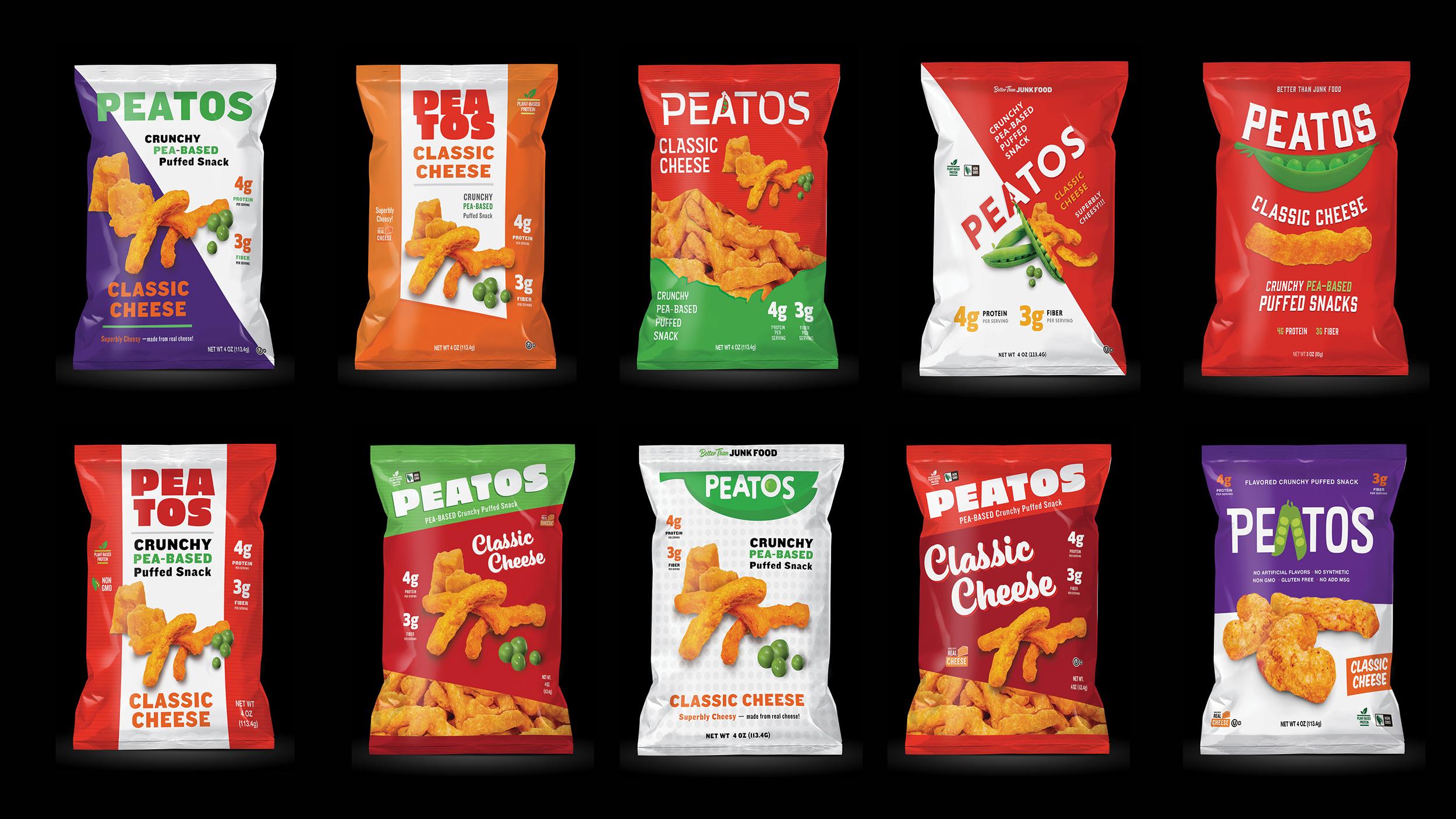 New branding bag packaging design explorations. Illustrator & Photoshop CC.
