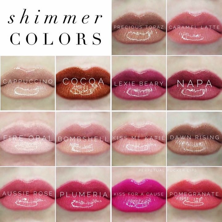 Shimmer Colors