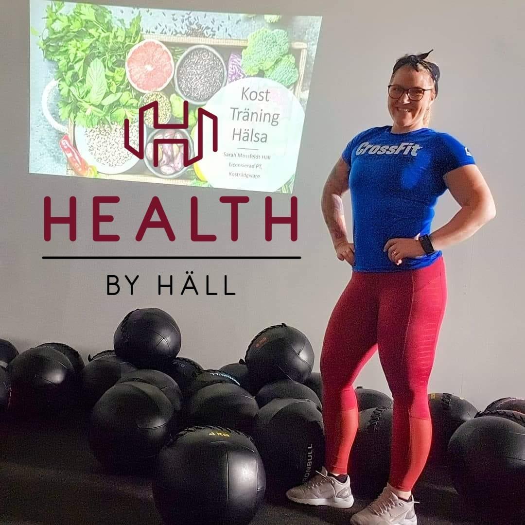 Sarah Mossfeldt Häll personlig tränare