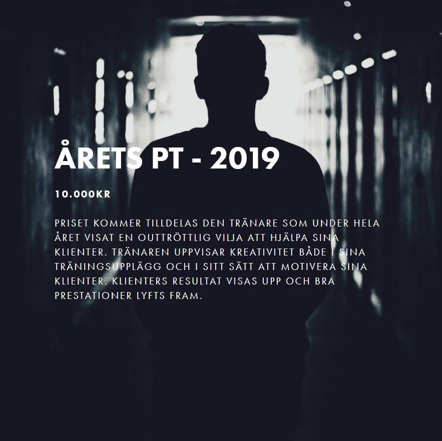 årets personliga tränare 2019
