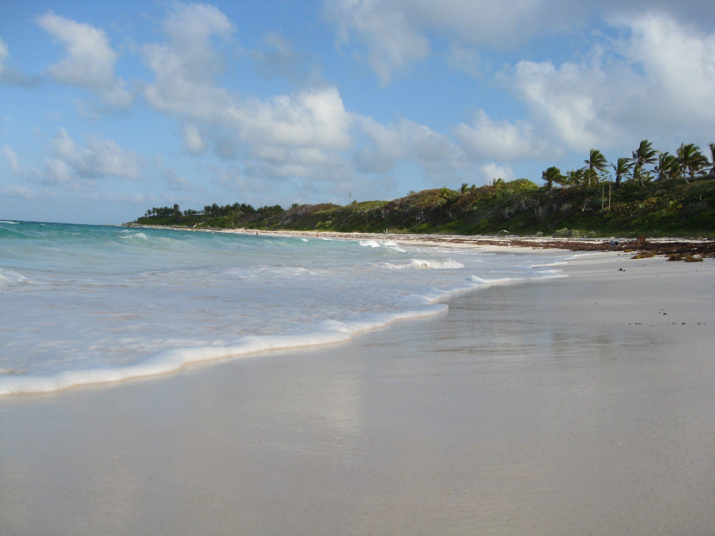 Atlantic side of Eleuthera