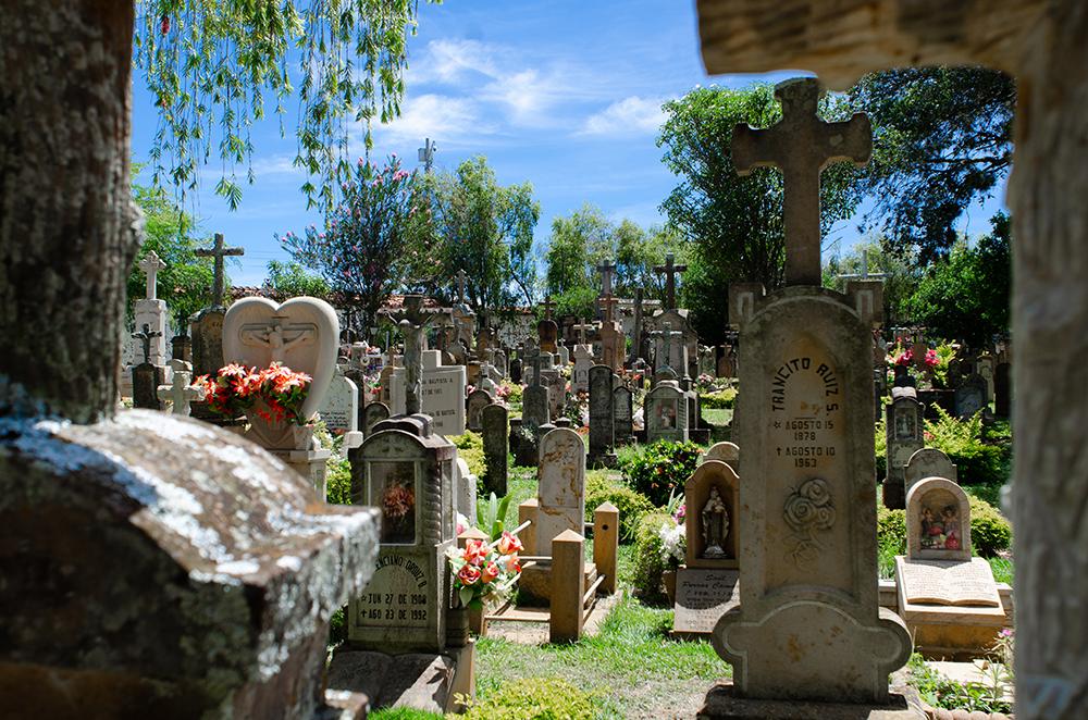 Cemetery in Barichara