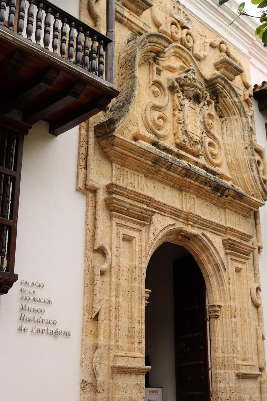 Historic Museum of Cartagena A.K.A. Palace of the Inquisition [Photo credit: Barbara Conte-Meier]