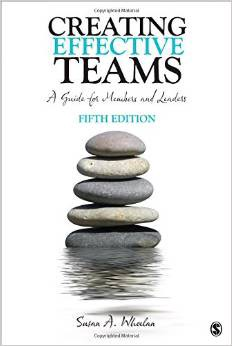 SUSAN A Wheelan - Effective teams & imgd model  Wheelan is the author of Integrated Model of Group Development (a model that builds upon works of Wilfred Bion and Bruce Tuckman). She is the author of the book Creating Effective Teams. The IMGD model suggest that all teams go through the four stages, Dependency and inclusion, Counter-dependency and fight, Trust and structure & Work and productivity. Based on the IMGD model, Wheelan has created and validated both a  Group Development Observation System  (GDOS) and a  Group Development Questionnaire  (GDQ).   More on Group Development on Wikipedia