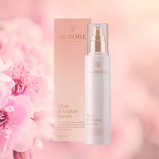 Featuring pristine, PH-balancing and soothing alpine water, repairing Vitamin E, nourishing Edelweiss Extract, and restoring Blue-green Algae, this serum is full of powerful and carefully selected clean ingredients to start delivering you results immediately.⁣ ⁣ After meticulously crafting and perfecting this product through 2 years of rigorous research and development as well as consumer testing, we are beyond thrilled to present you with the Elixir d'Angkor Serum, which was formulated with your skin care goals, health, safety, and enjoyment in mind.⁣ ⁣ In fact, we cared so much about our consumer feedback that we went through a reformulation process to perfect the product, based on the comments we received from users testing our products. ⁣ ⁣ All of our products are clean, created with innovative Swiss-beauty technology, ethically-sourced, impact-sourced, paraben-free, phthalate-free, sulfate-free, and vegan.⁣ ⁣ This serum is perfect for you if you are looking to blur fine lines, or simply restore your skin to its naturally healthiest, dewiest state. ⁣ ⁣ Ready to discover your best skin yet? ⁣ ⁣ The pre-order link is in our bio!✨