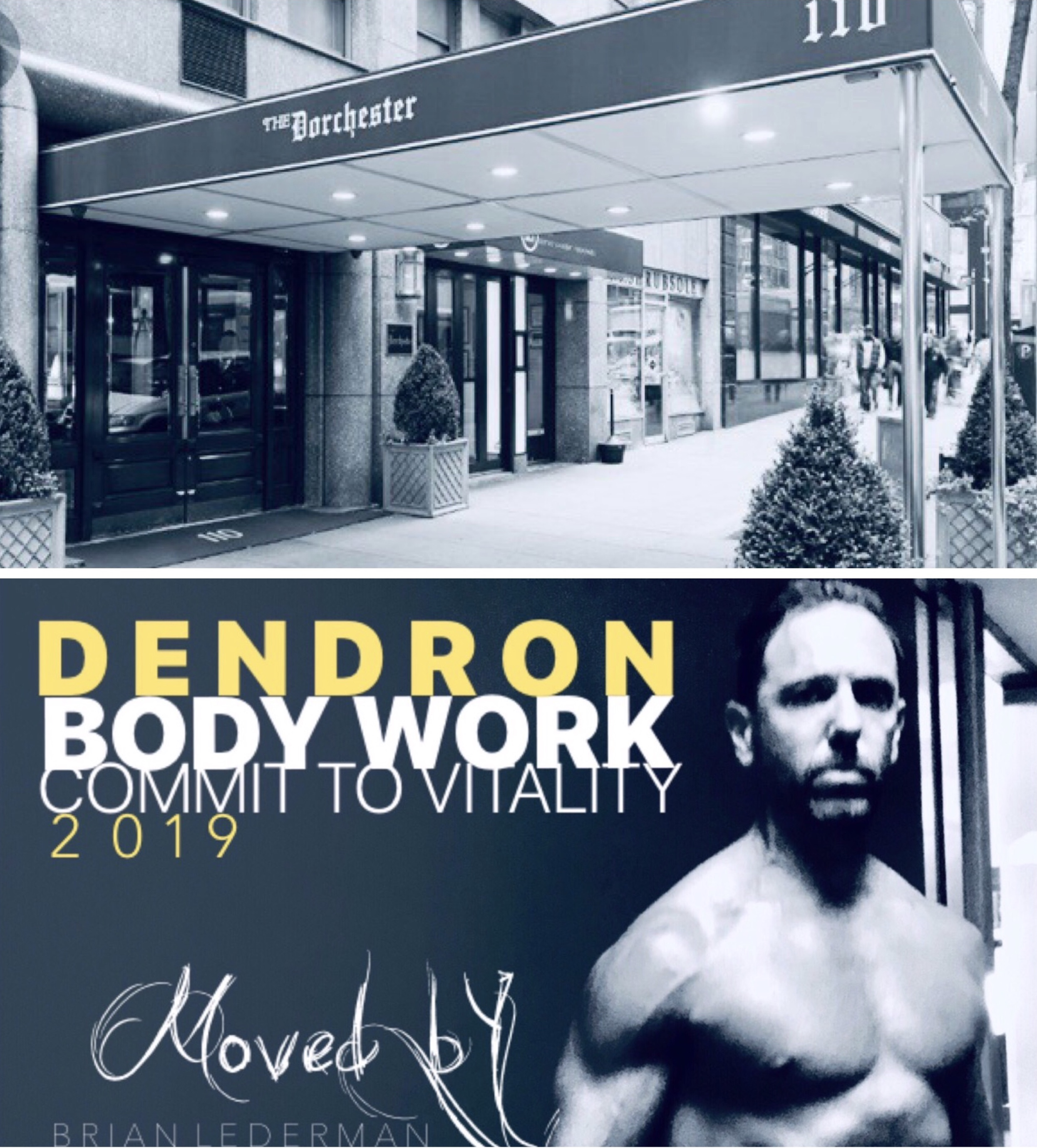 DENDRON BODYWORK IS PROUD TO ANNOUNCE THAT WE ARE NOW OFFERING FITNESS SERVICES TO ANOTHER BEAUTIFULLY HISTORIC MANHATTAN LOCATION. OUR TEAM WILL PROVIDE THE HIGHEST LEVEL OF PERSONAL TRAINING SERVICES TO THE RESIDENTS AT THE DORCHESTER 110 EAST 57TH ST. THEY NAVE A NEWLY RENOVATED STATE OF THE ART FITNESS CENTER LOCATED IN THE LOWER LEVEL OF THE BUILDING.