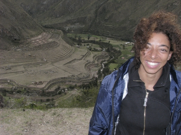 Your's Truly, 1st day on the Inca Trail