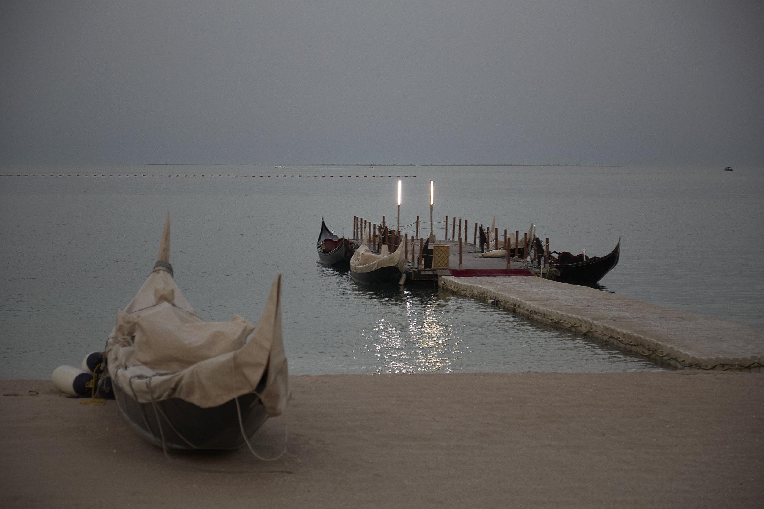 Waterfront in Doha, at Katara Cultural Village