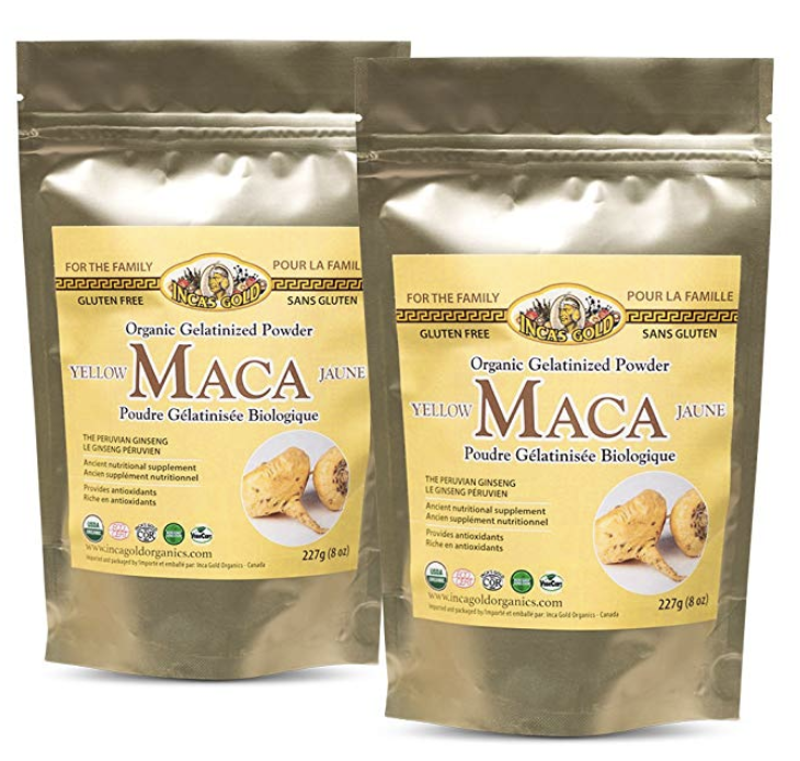 Organic Gelatinized Maca Root Powder -