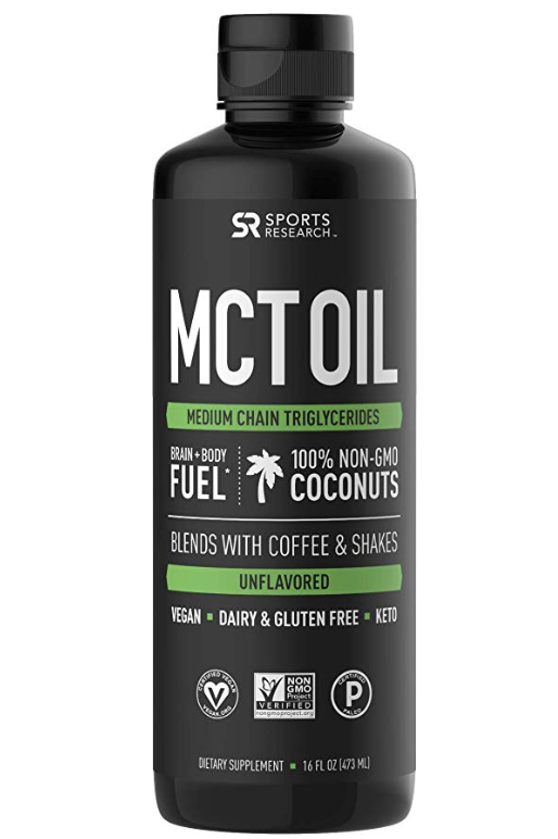 MCT oil - Easy to mix