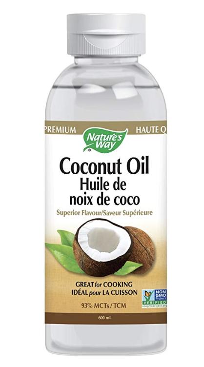 Liquid Coconut Oil for cooking