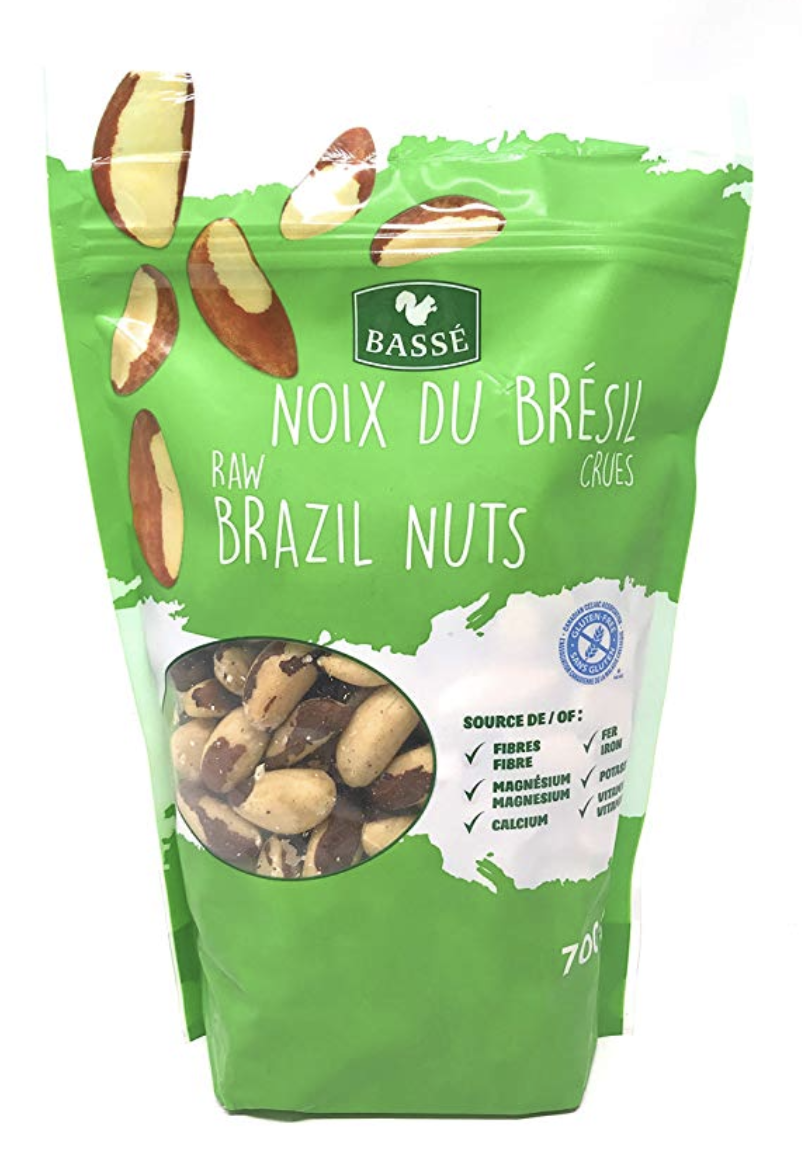 Brazil Nuts - Great iron and natural metabolism booster
