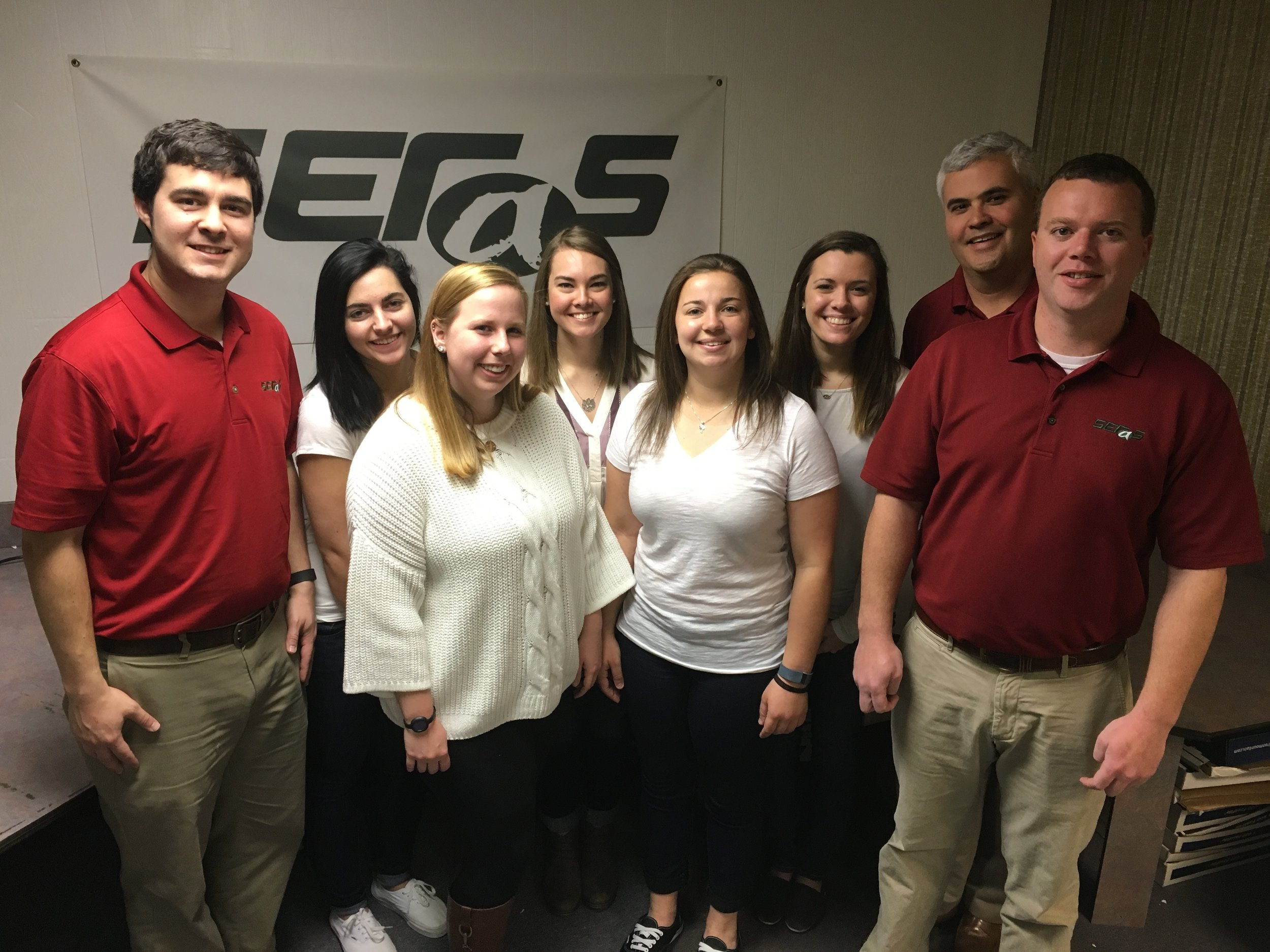 Some of our IT & Computer Support Services team as well as our Records Management & Document Scanning Team.
