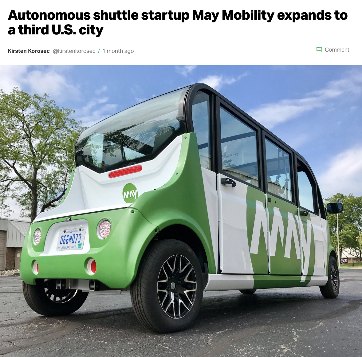 Techcrunch_May Mobility