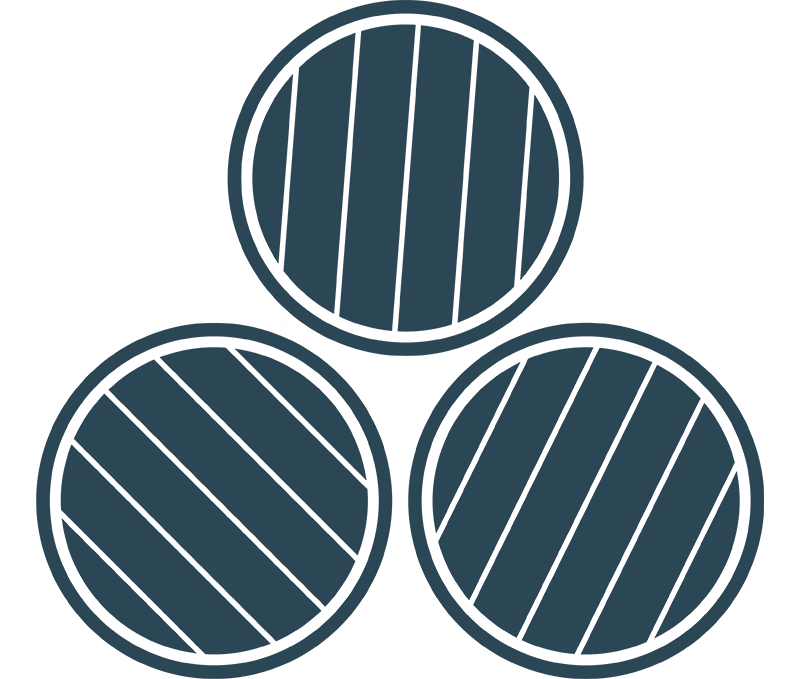 3 Whisky Barrels Blue BG icon The Brindiamo Group