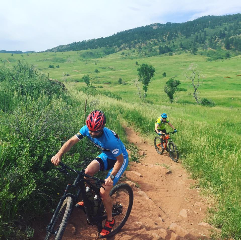 The bike course at Xterra Lory