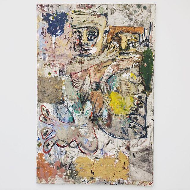 Daniel Crews-Chubb, Voynich + Belfie (2016) . . . . . . #art #gallery #modernart #abstract #saachi #painting