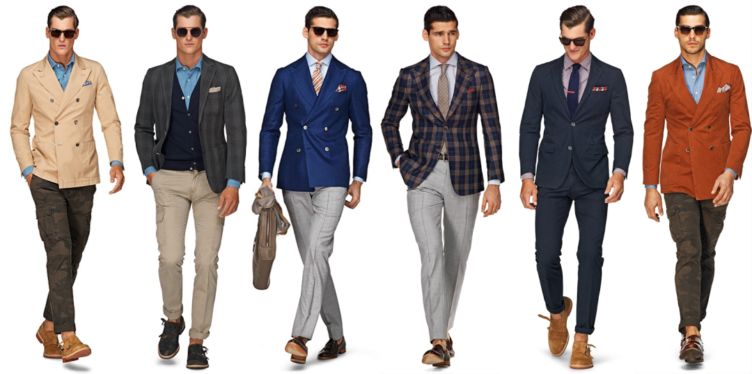 Outfits like this are required for our men interning with SMF Models