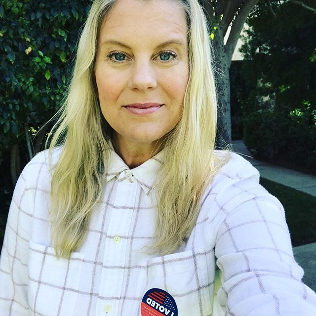 Proud to have voted...for myself, my girls, and for all those who have lived before me and didn't have the right to do so. Make your voice heard today. ♥️🇺🇸 #iamavoter