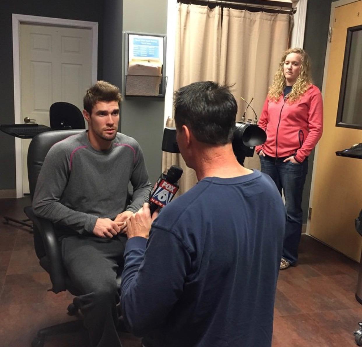 Interview with Fox 6, Colorado Rockies' David Dahl, Sports Vision South
