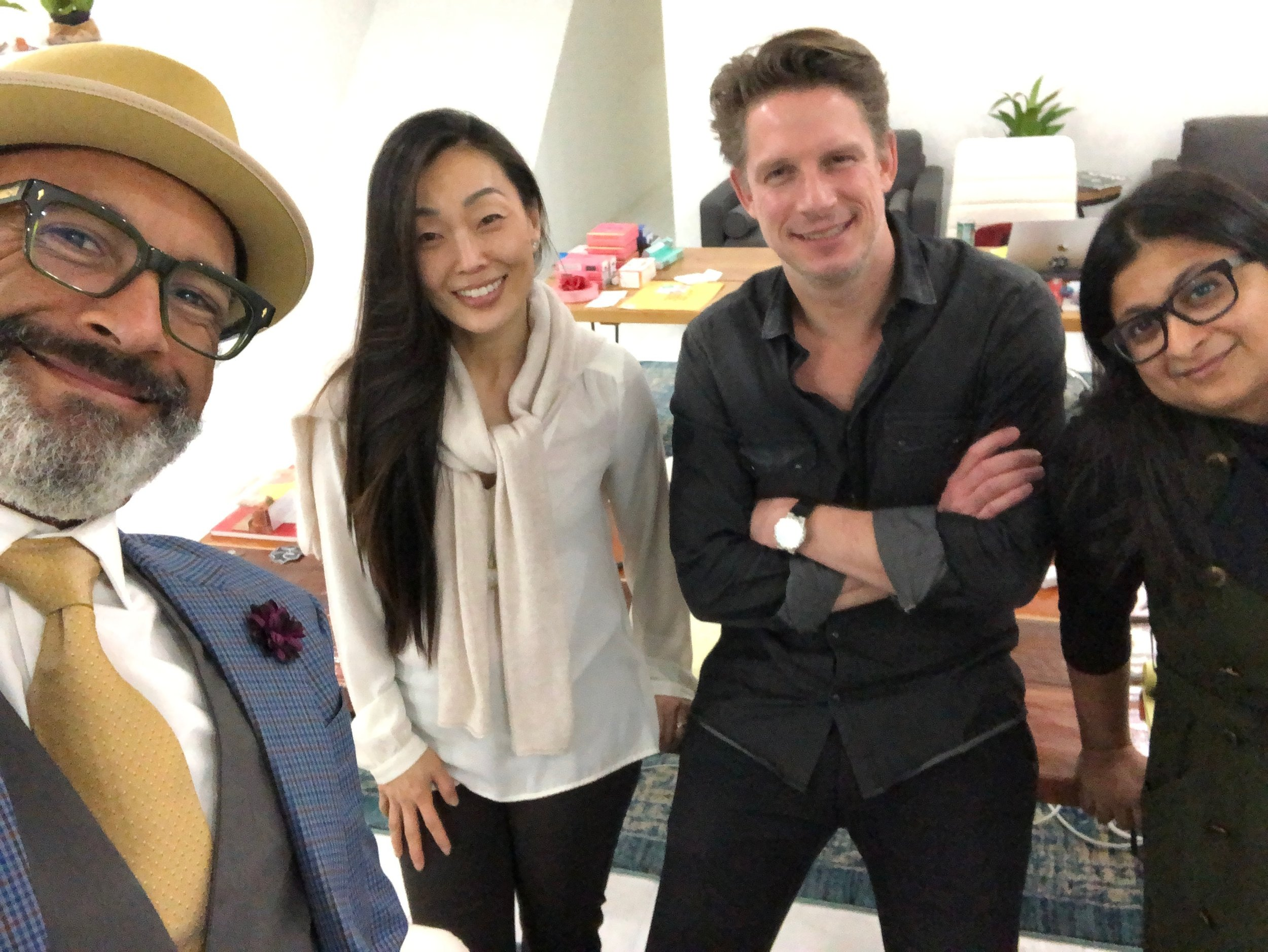 Hudson Cutler Executive Team (L-R: Shawn Amos, Irene Hong, Robert Dowling, Lavanya DJ)