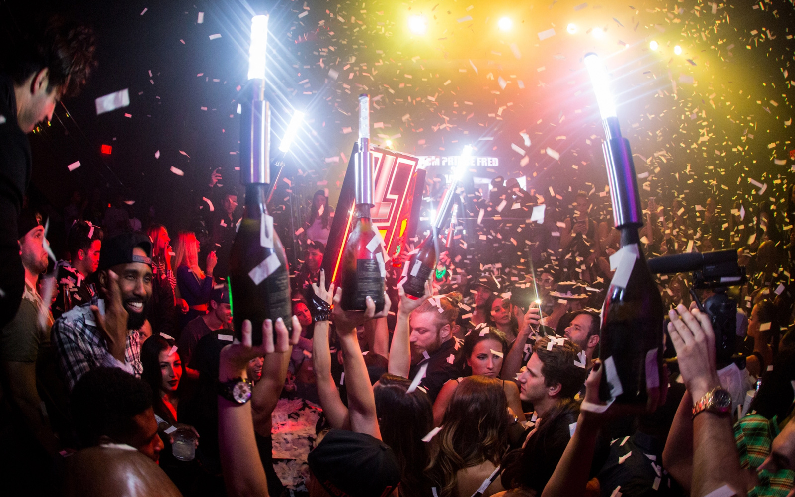 LIV Reopens With Massive LED Spider, Travis Scott, Skrillex & Lil Wayne