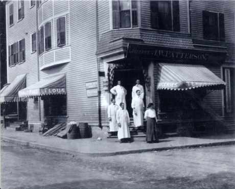 Patterson family store selling groceries and provisions on Jamaica St. Photograph courtesy of the Patterson family. A higher resolution version of this photograph is  available .