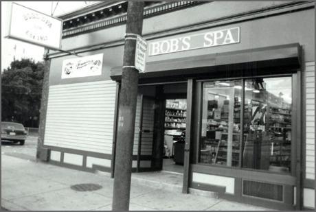 Bob's Spa, 128 South Street, 1987.  Download  high resolution .tif file.