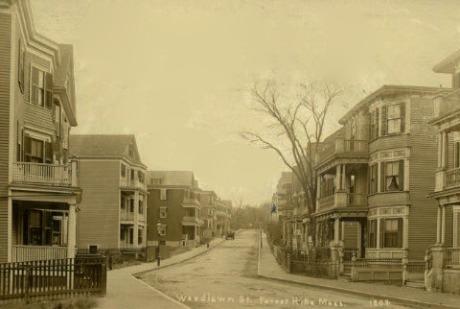 Woodlawn Street, circa 1900.