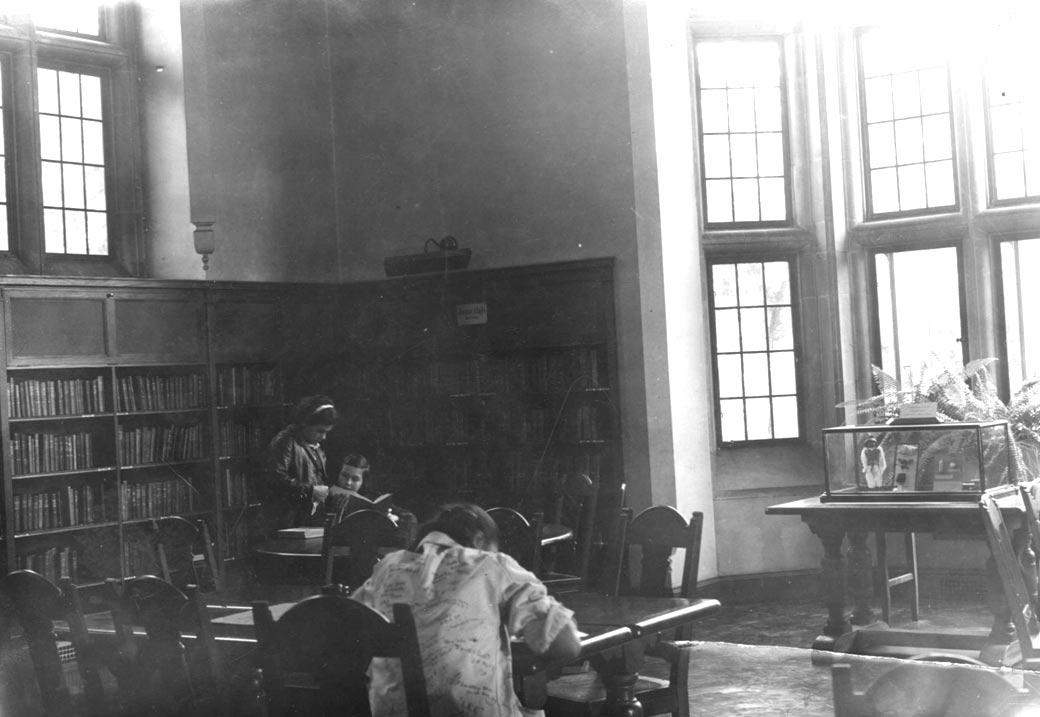 Boston Public Library Connolly Branch Reading Room, ca. 1935