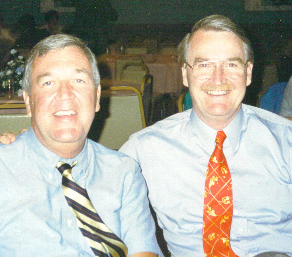 Jim with brother Jack. 2000.