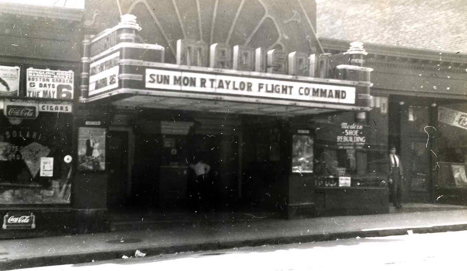 The Madison Theatre.Photograph from Jamaica Plain Historical Society archives.