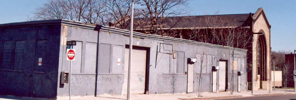 3033 Washington Street was built in 1912 as a public garage. It was the first garage built in Egleston Square and allowed apartment dwellers a place to protect their cars from the elements.
