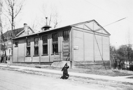 Westchester Portable School. From Jamaica Plain Historical Society archives.