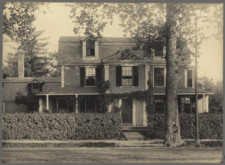 Captain Benjamin Hallowell Homestead. Courtesy of Boston Public Library