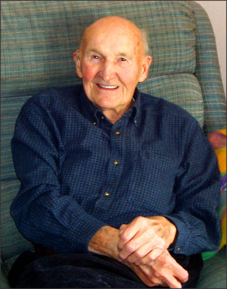 Robert K. Casavant in his home in Wrentham, MA, December 2008. Photograph by Peter O'Brien.