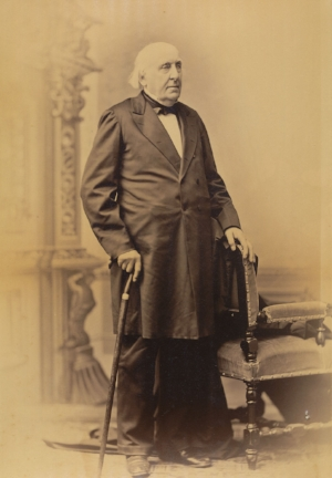 Jonathan Ingersoll Bowditch. Courtesy First Church of Jamaica Plain.  Download photograph at high-resolution.