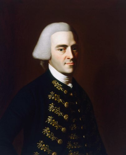 John Hancock,  Courtesy Massachusetts Historical Society