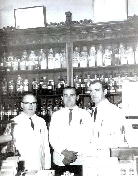 Bill Sullivan Roy Ciapciak John Donovan ca 1965 photo courtesy of Sally Donovan