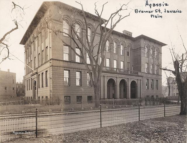 Agassiz School. City of Boston archives.