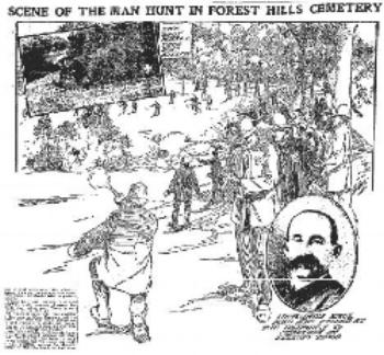 Illustration of the Man Hunt
