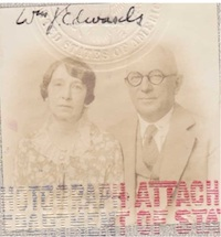 William J. Edwards and Margaret (Moy) Carr Edwards