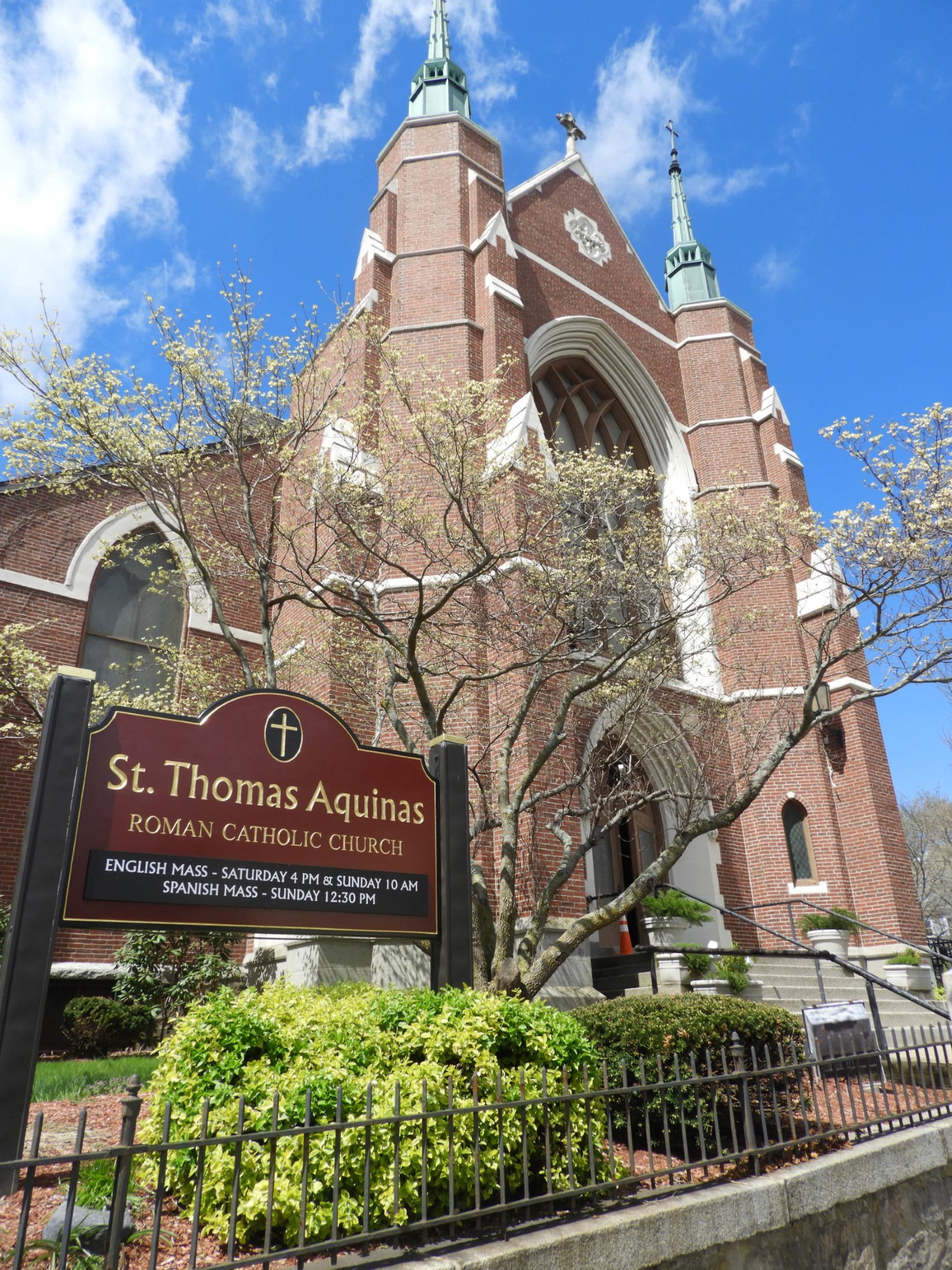 St. Thomas Aquinas Church. Photograph by Richard Heath, 2019