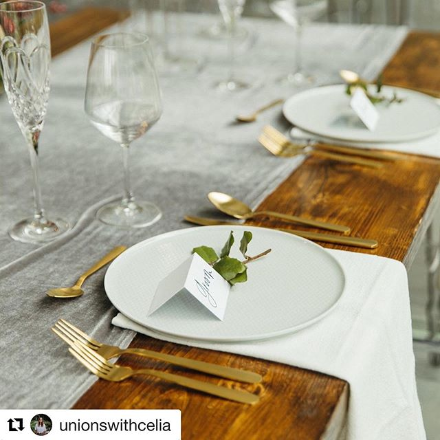 #Repost @unionswithcelia with @get_repost ・・・ Thankful for the stories I get to hear and share in. Over meals, coffee and sometimes plain ol email. It's an honor to learn the special details and moments of your lives. ⠀ What's one part of your story you really love? 🧡 ⠀ This sweetheart table belongs to the sweetest of hearts @breannamwise + @alexwise7  Photo @andrewedwrds  Florals @elizabethmckenzieflorals  Venue @greenhousetworivers ⠀ Planning @unionswithcelia