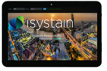 iSystain - Your corporate Responsibility Platform in the Cloud
