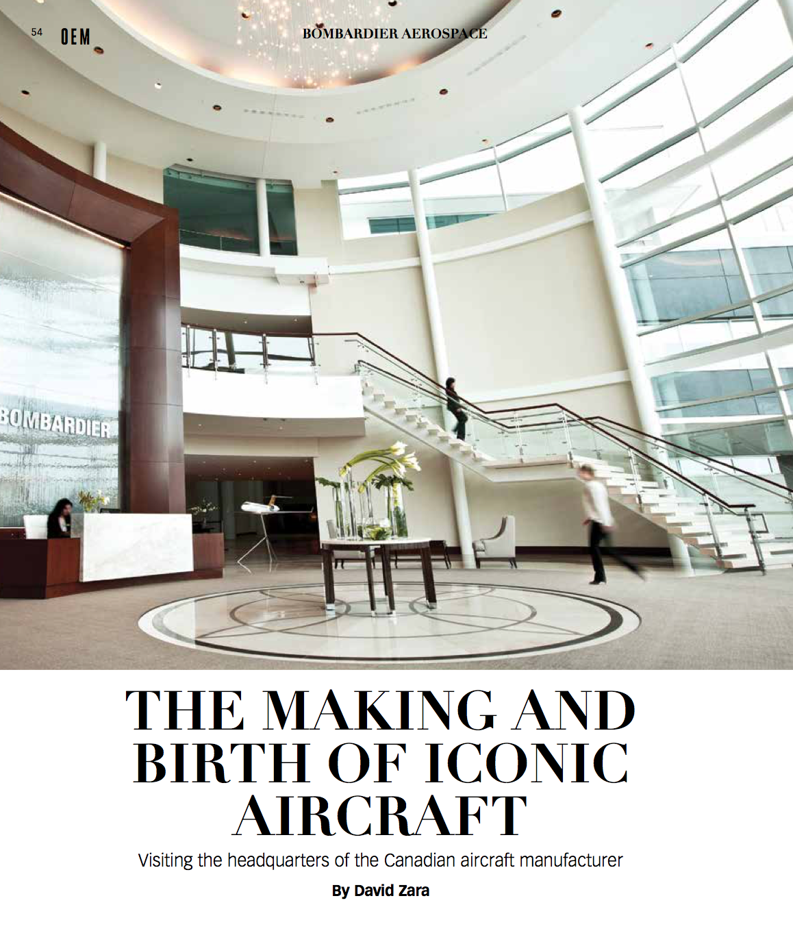The making and birth of iconic aircraft