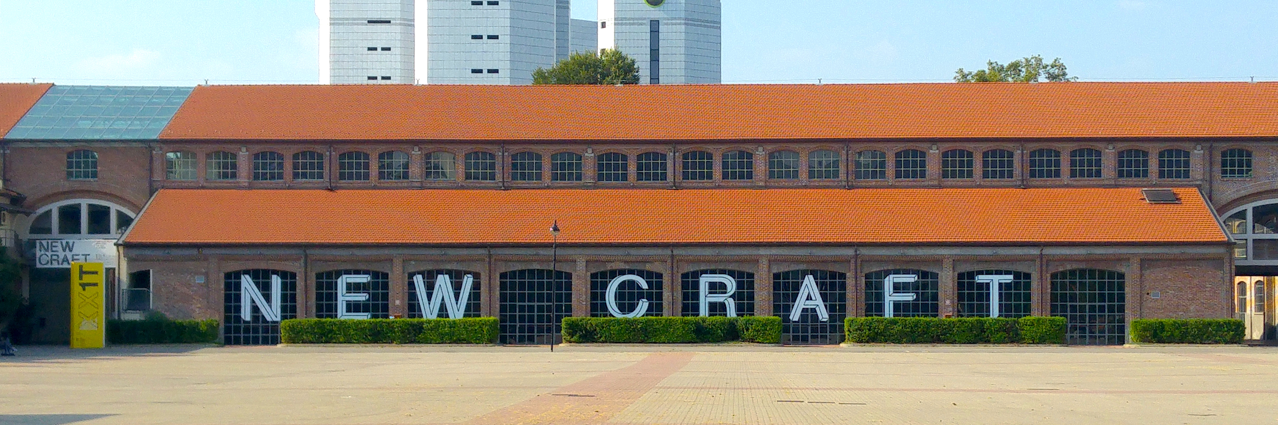 'New Craft' Exhibition Building, Triennale di Milano, 2016