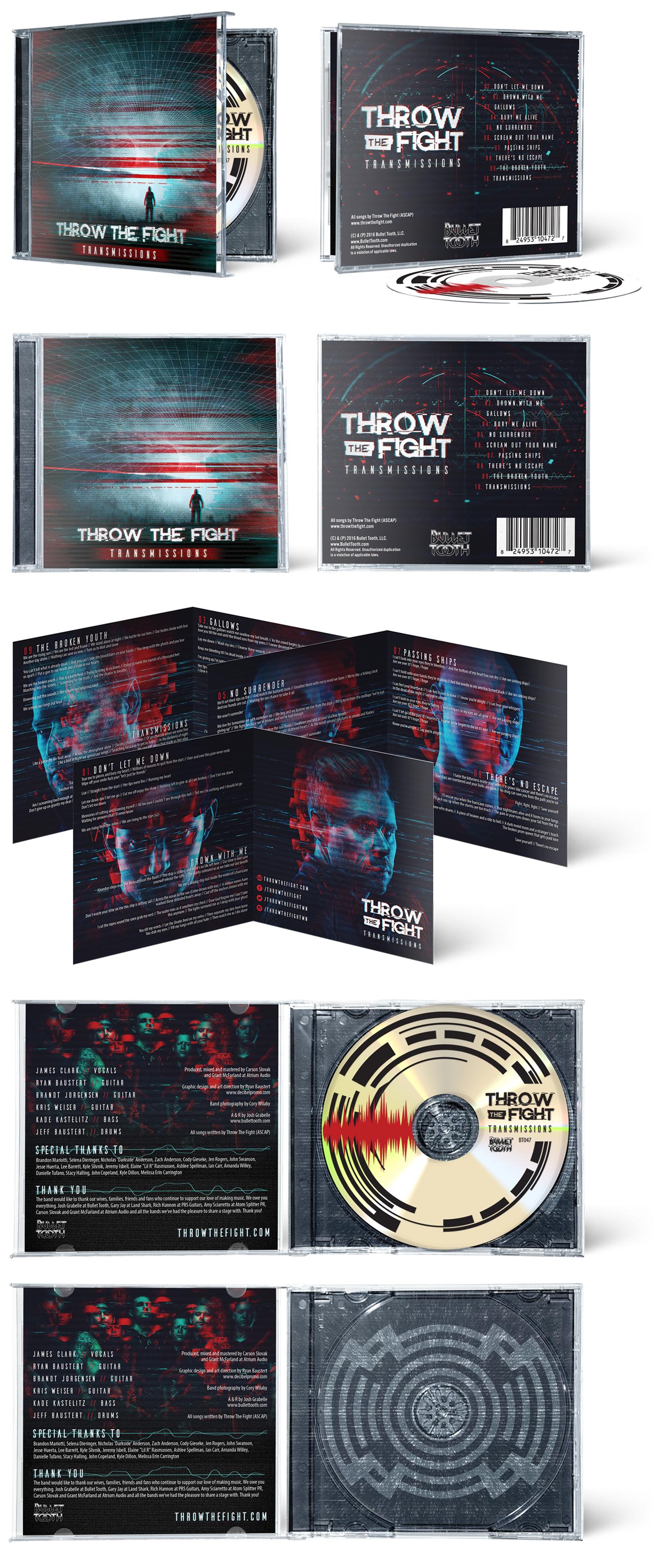 Throw The Fight Transmissions album artwork